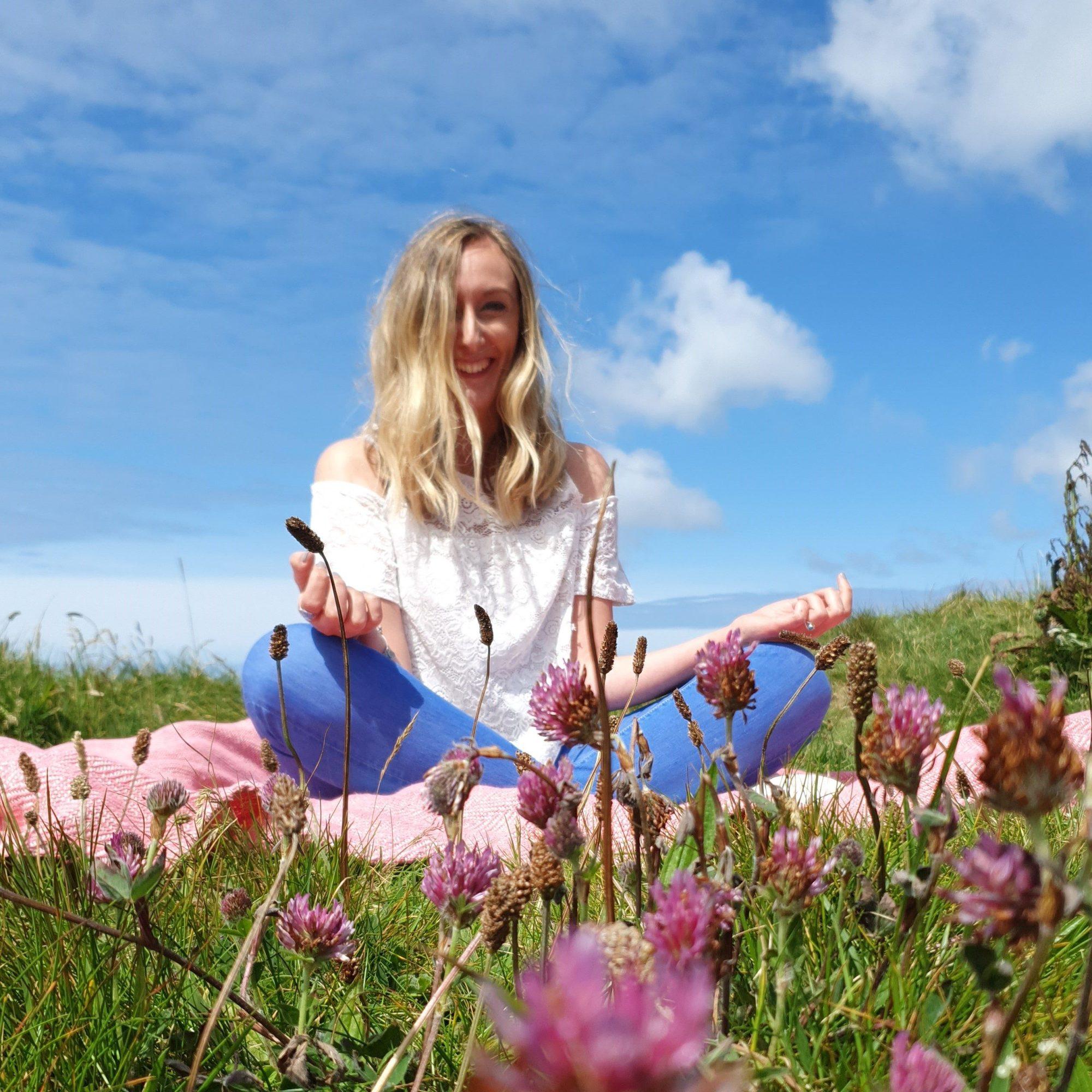 Amy Psychic Medium in Meditation